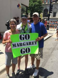 Go Margaret Sign