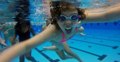 Swimmers Underwater