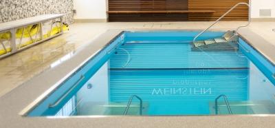 Therapy pool at SwimRVA